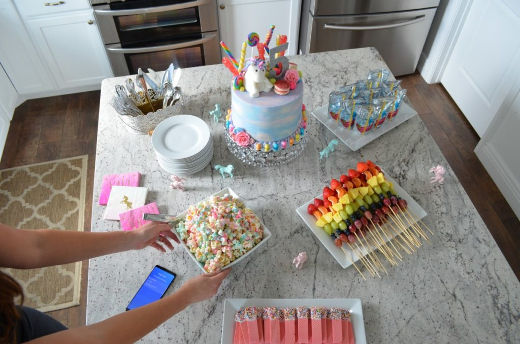 Rainbow Unicorn Birthday Party -Jade's 5th Birthday Recap – Housewife2Hostess