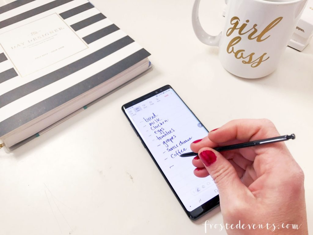 Samsung Galaxy Note8 Helps Moms Do It All