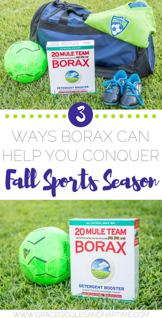 3 Ways Borax Can Help You Conquer Fall Sports Season