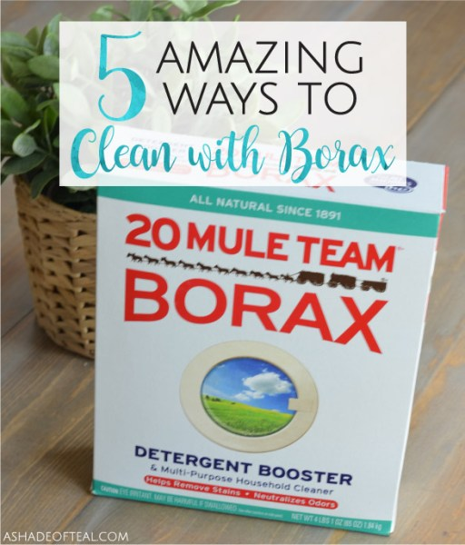 5 Amazing Ways to Clean with Borax!
