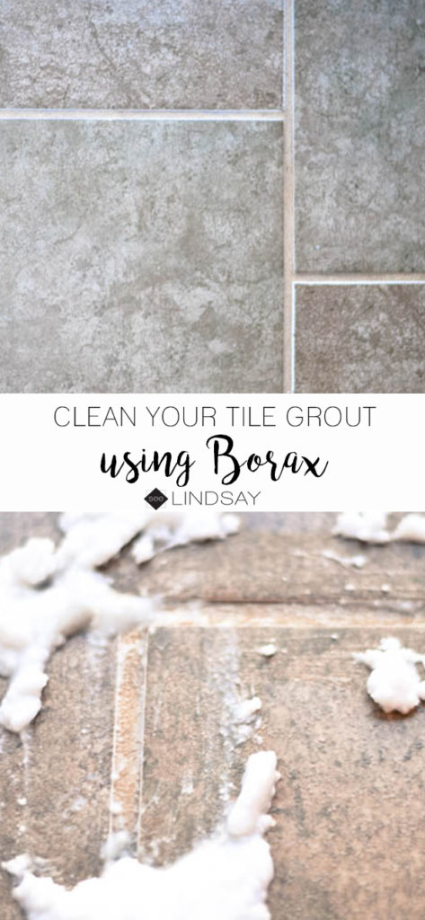 How to clean tile grout with Borax – seeLINDSAY