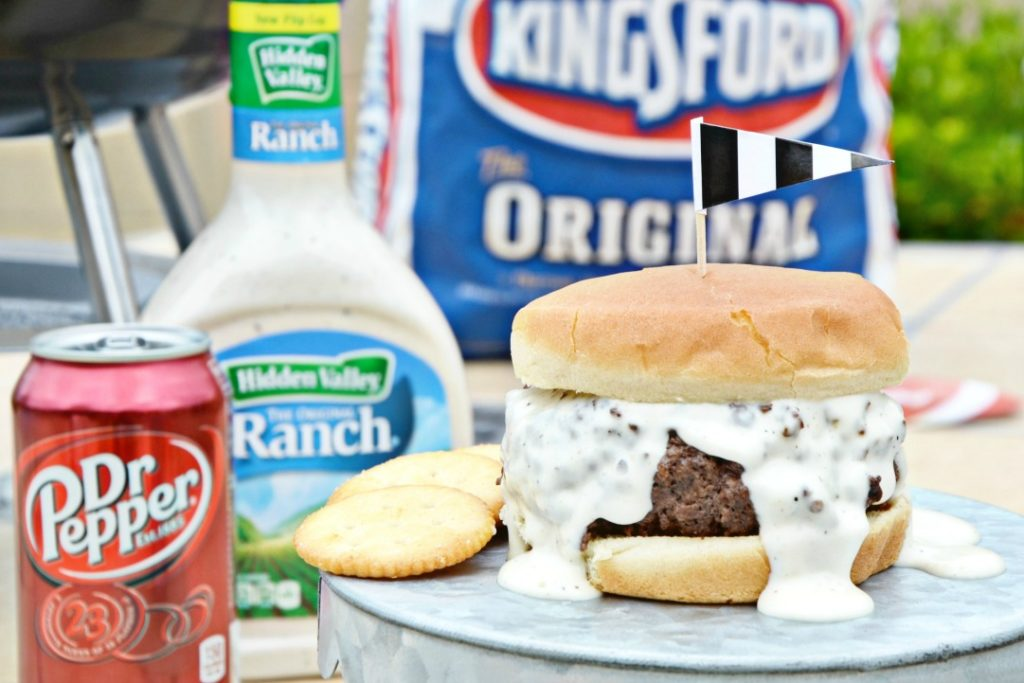 Dr Pepper Ranch Burgers Grilling Recipe