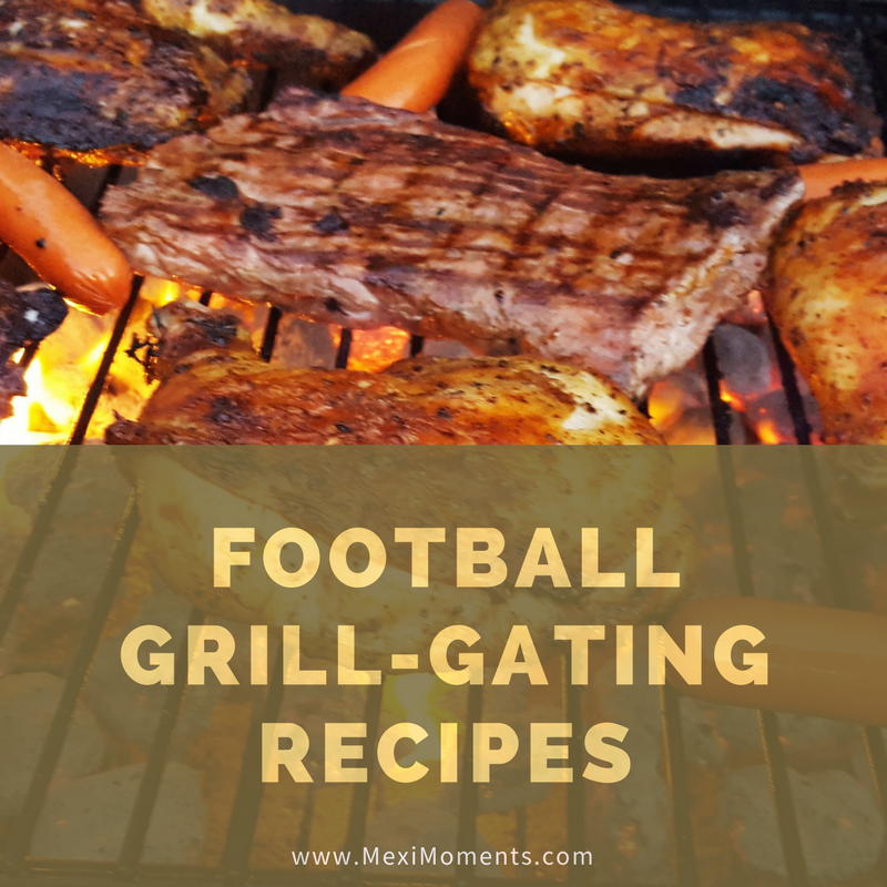 Football Grill-Gating Recipes