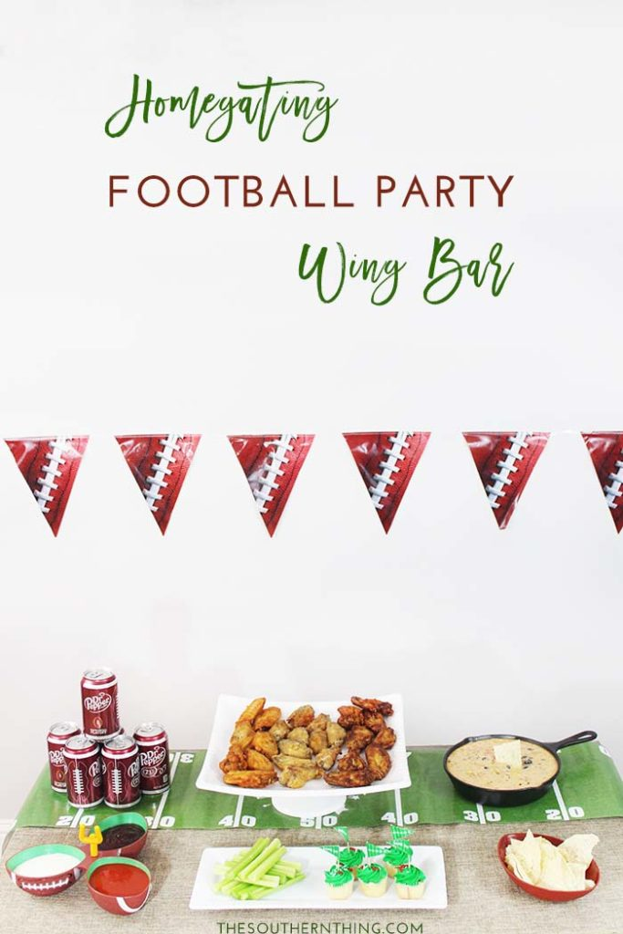 Homegating Football Party Wing Bar • The Southern ThingHomegating Football Party Wing Bar • The Southern Thing
