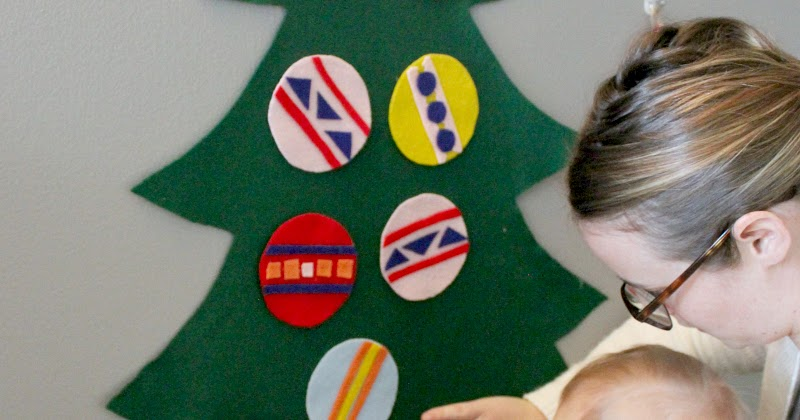 To & Fro: Felt Christmas Tree Tutorial – Perfect for Baby!