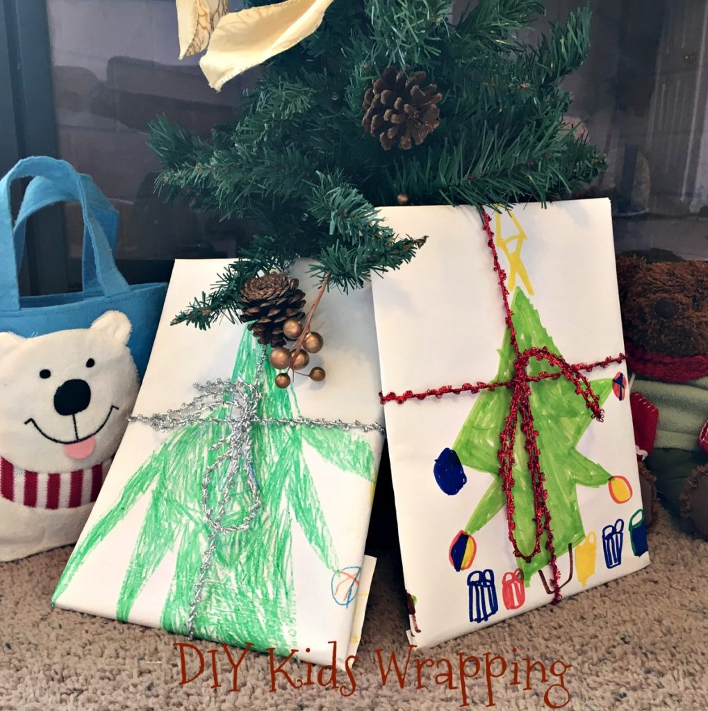 DIY Kids Wrapping Party