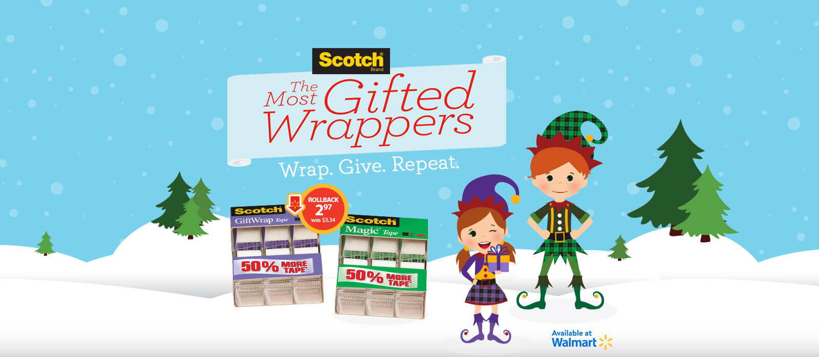 Scotch® The Most Gifted Wrappers